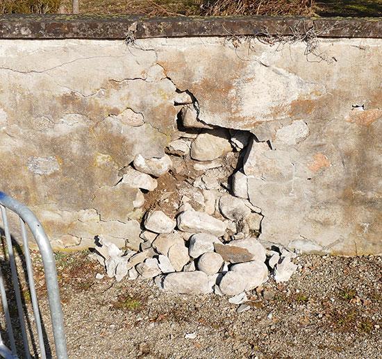 Mur en limite de propri t priv communale - Mur en limite de propriete droit ...